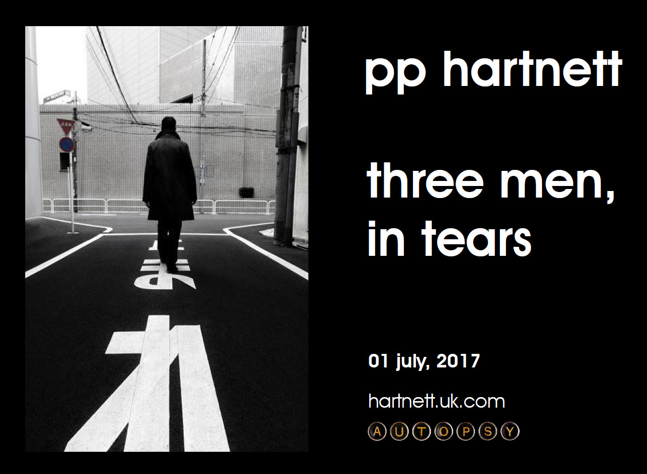pp hartnett - Three Men, in tears